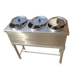 Stainless Steel Three Holes Hot Case