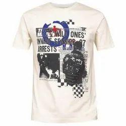 Round Neck Printed T-Shirt