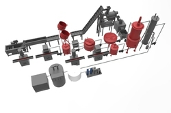 Automatic Tomato Sauce Making Plant