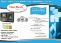 Timewatch Biometric Fingerprint Based T A System (Bio-1)