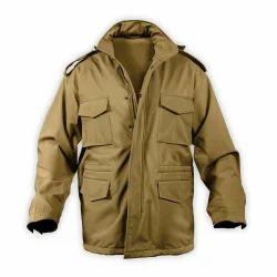 Plain Xl Mens Cotton Jacket