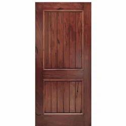 Plain Hardwood Door, For Office, 7 X 3 Ft