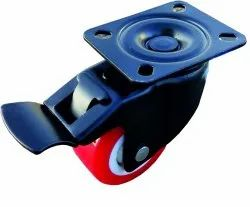Single Wheel Brake Type Wheel Caster