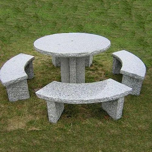 Miraculous Stone Garden Bench Table Set Bralicious Painted Fabric Chair Ideas Braliciousco