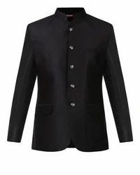 Black Contemporary Fit Suit