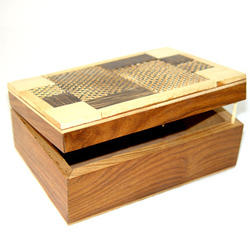 Decorative Gift Boxes In Wood From India