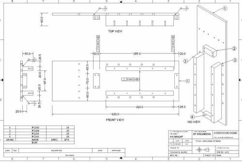 Mechanical Drafting Services In Sinnar Rourkela