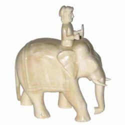 Elephant Bone Sculpture