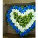 Heart Shape Wedding Artificial Flower Bouquet, Packaging Size: 2-200 Dozen