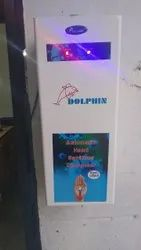 Dolphin White Automatic Touch Less Sanitizer Dispenser
