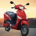Red Hero Optima E5 Electric Scooty