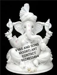 Classic Ganesha Statue Of Marble