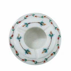 Handmade White Marble Astray