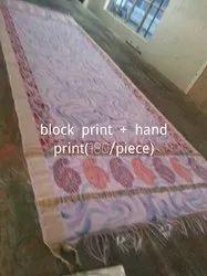 Fabric Printing Service Provider Printed Dupatta