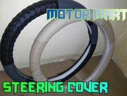 Pvc Leather Steering Wheel Cover, Single Piece