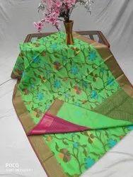Banarasi Cotton Silk Saree