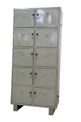 10-Locker Almirah (Steel)