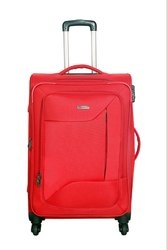 Spinnerz Black Trolley Suitcase Bag