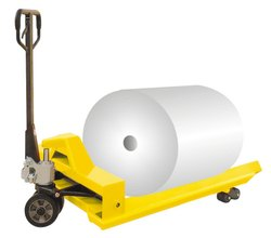 Paper Roll Reel Hand Pallet Truck