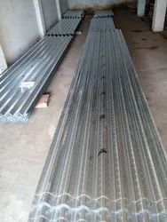 Steel Galvanised Decking Sheet, Thickness Of Sheet: 1.00MM, Coating Thickness: 120 Gsm