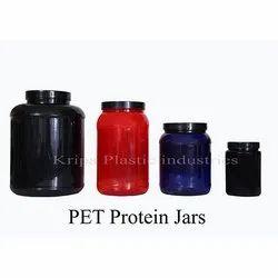 PET Protein Jars