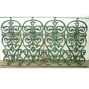Antique Cast Iron Railing