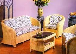 Cane Indoor Sofa Set