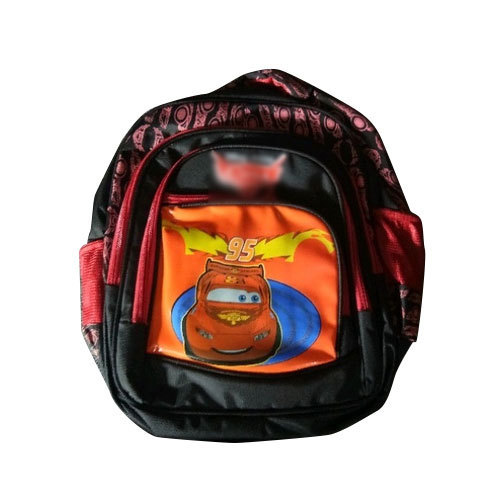 Polyester Printed Designer Kids School Bag