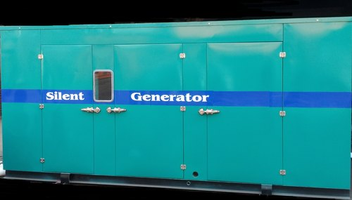 Light Green Generators Enclosure, Size/Dimension: 3200x2500x2150