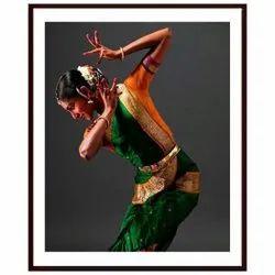 Shyam Framing Art Classical Kathak Dance Pose