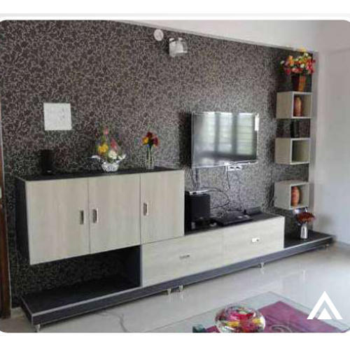 Modern Living Room Tv Unit, Rs 1250 /square Feet, Acumen