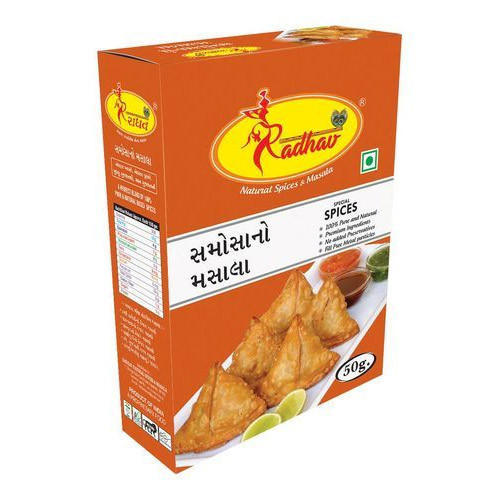 Radhav  50 g Samosa Masala, Packaging: Box