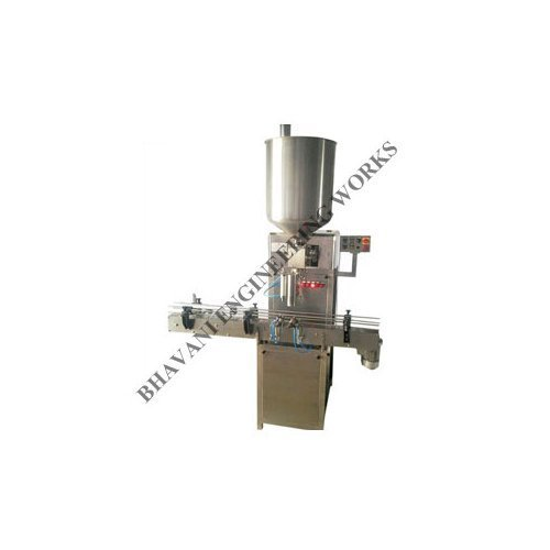 Bhavani Pickle Filling Machine, Capacity: 10 To 60 Jar Per Minutes