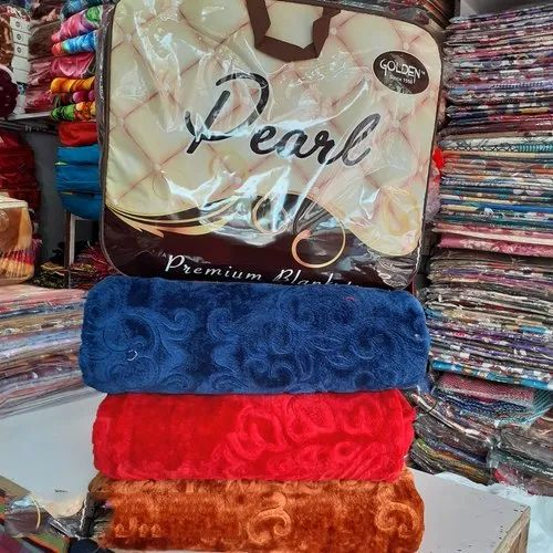 Pearl Double Bed Mink Blanket