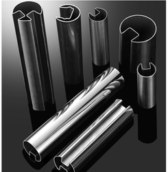 Stainless Steel Single Slot Tubes