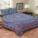 Indian Blue Print Mandala Hippie Duvet Doona Cover