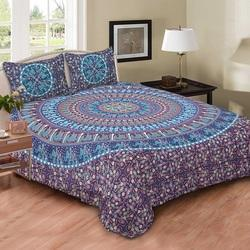 Blue Elephant Duvet Cover