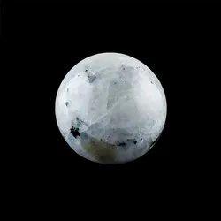 Natural Rainbow Moonstone Spheres Balls Home Decor Crystal Designer Gemstones 50mm - Customized