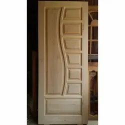 Interior Solid Wood Door, For Home, Office etc