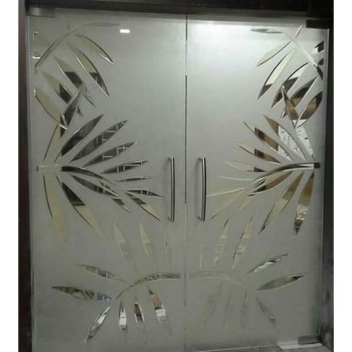 Decorative Glass Door Height 7 Feet Rs 25000 Piece Sujan Industrial Enterprises Id 19844007233