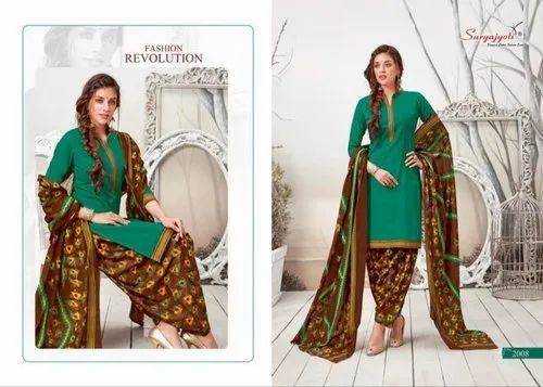 f73e6d4cb2 Suryajyoti By Sui Dhaga Vol 2 Cotton Chudidar Suit at Rs 815 /piece ...
