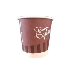 100 Pieces Disposable 85ml Paper Cup, Packaging Type: Packet