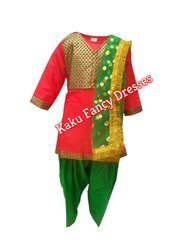 Kids Punjabi Girl Costume