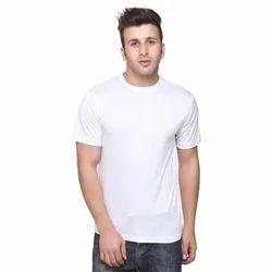 Mens Plain White T Shirt