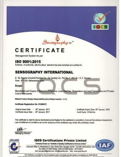 Sensography International - Manufacturer from Bhosari, Pune, India
