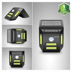 Solar Lamp for Home COB LED Powered Outdoor Motion Sensor Light with LEDs on Both Sides