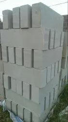 Solid Blocks Autoclaved Aerated Concrete Block, For Side Walls