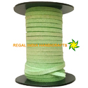 Kiwi Lime Green Faux Suede Leather Cord