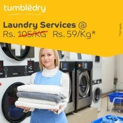 Curtains Starching Laundry Services