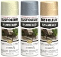 Rust Oleum Stops Rust Hammered Metal Finish Spray Paint
